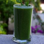Green Smoothie With Lime