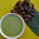 Green Smoothie With Grapes