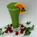 Green Smoothie With Lemon