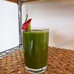 Green Smoothie With Dragon Fruit