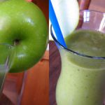 Green Smoothies With Green Apples
