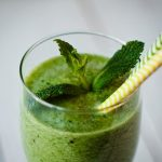 Sweet Honeydew Mint Green Smoothie