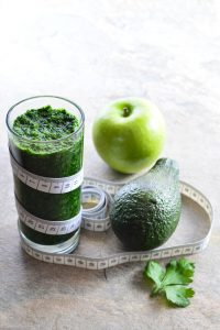 Energy Boosting Green Smoothie with Avocado, Kale and Apples