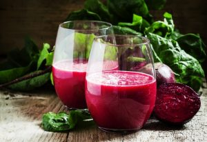 Green Smoothie with Beets